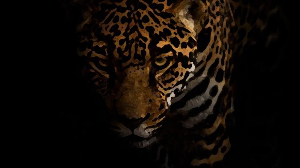 Leopard On The Terrace