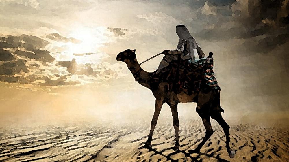 The Tracker And The Desert Wraiths